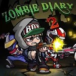 Zombie Diary 2: Evolution v1.2.4 Мод много денег и кристаллов