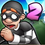 Robbery Bob 2: Double Trouble v1.6.8.10 (Мод много денег)